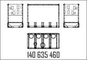КАРКАС ДЛЯ ГИДРАВЛИЧЕСКОГО МОДУЛЯ 1080ММ С K15 SHELL MPD OR/MR, S-MPD OR/MR