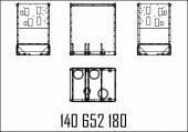 КАРКАС ДЛЯ ГИДРАВЛИЧЕСКОГО МОДУЛЯ 720MM С K150 SK98 OR/MR, S-MPD OR/MR