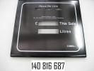Дверка для корпуса индикации 420х450, в сборе SK700, 3PPU