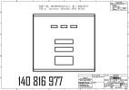 Дверка с индикацией и 16-клавишной клавиатурой предвыбора, в сборе SK700, 3PPU