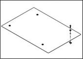 Крышки 708 мм для 4 шл. стойки, высококачественная сталь OR SK700-2
