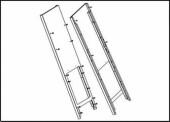 Распорный профиль 50, в сборе, высококачественная сталь CR SK700-2